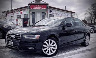 Used 2014 Audi A4 2.0T Sedan quattro Tiptronic|Certified| SUNROOF|ALLOYS|PWRSEATS|AND MUCH MORE! for sale in Mississauga, ON