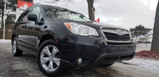 Used 2014 Subaru Forester Certified|2 Yrs Warranty|AWD|BU Camera|2.5|Alloys for sale in Mississauga, ON