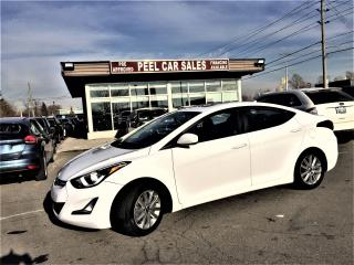 Used 2016 Hyundai Elantra GLS|SUNROOF|ALLOYS|CLEANCARPROOF| for sale in Mississauga, ON
