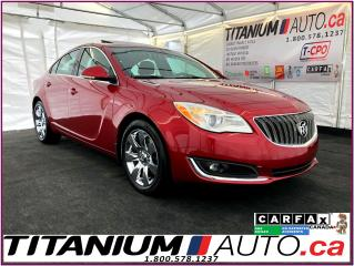 Used 2015 Buick Regal Premium-GPS-Camera-Sunroof-Leather-Remote Start-XM for sale in London, ON