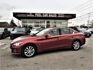 Used 2014 Infiniti Q50 AWD|NAVI|REARVIEW| for sale in Mississauga, ON