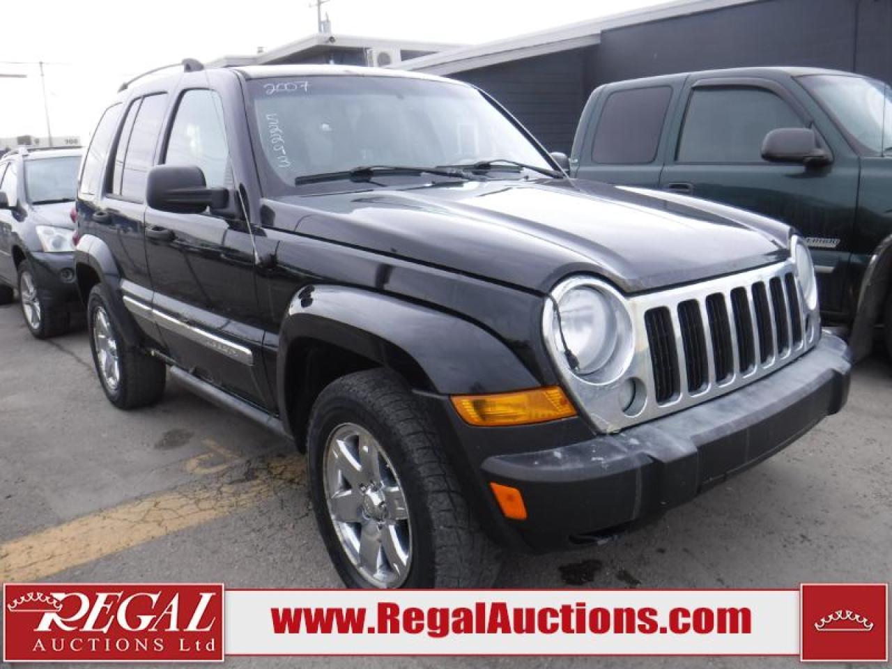 Photo of Black 2007 Jeep Liberty