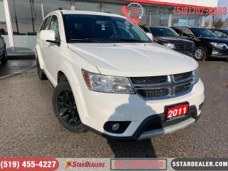 Used 2011 Dodge Journey SXT | AUTO LOANS APPROVED | APPLY NOW for sale in London, ON