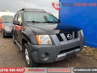 Used 2006 Nissan Xterra Off Road | AUTO LOANS APPROVED for sale in London, ON