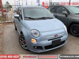 Used 2013 Fiat 500 Sport | CAR LOANS APPROVED for sale in London, ON