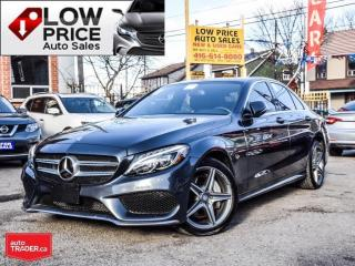 Used 2016 Mercedes-Benz C-Class AMGPKG*Navi*Camera*BlindSpot*Panoramic*MBWarr* for sale in Toronto, ON