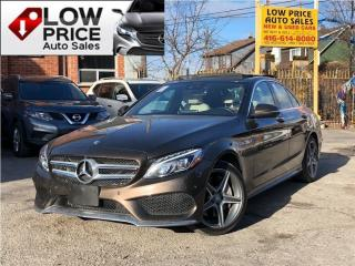 Used 2016 Mercedes-Benz C-Class AMGPkg*Navi*Camera*BlindSpot*PanoramicRoof* for sale in Toronto, ON