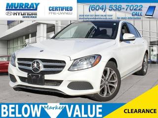 Used 2015 Mercedes-Benz C-Class C300 4MATIC**NAVI**BLUETOOTH**HEATED SEATS** for sale in Surrey, BC