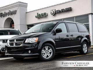 New 2019 Dodge Grand Caravan Crew Plus for sale in Burlington, ON