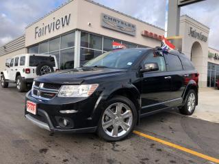 Used 2015 Dodge Journey R/T.Leather   DVD   7pass   Navi for sale in Burlington, ON