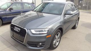 Used 2015 Audi Q3 2.0T Progressiv. LEATHER. PANO ROOF. REAR CAMERA for sale in Etobicoke, ON