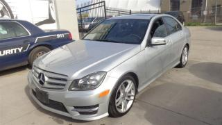 Used 2013 Mercedes-Benz C-Class C300 4MATIC NAVIGATION PREMIUM PKG SUNROOF. for sale in Etobicoke, ON