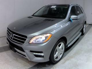 Used 2013 Mercedes-Benz ML-Class ML 350 BlueTEC 4MATIC NAVIGATION AMG STYLE for sale in Etobicoke, ON