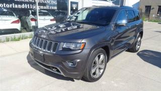 Used 2014 Jeep Grand Cherokee Overland.DIESEL.NAVIGATION. for sale in Etobicoke, ON