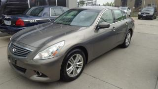 Used 2012 Infiniti G37 X Luxury LEATHER. SUNROOF. REAR CAMERA AWD for sale in Etobicoke, ON