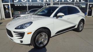 Used 2015 Porsche Macan S NAVIGATION. PANORAMIC ROOF. REAR CAMERA for sale in Etobicoke, ON