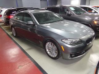 Used 2014 BMW 528 i xDrive NAVIGATION. REAR CAMERA. SUNROOF for sale in Etobicoke, ON