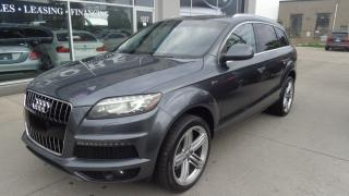 Used 2011 Audi Q7 3.0 Sport S-LINE NAVIGATION. REAR CAMERA.7 PASS for sale in Etobicoke, ON