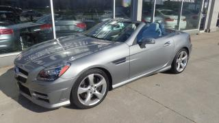Used 2015 Mercedes-Benz SLK SLK250 navigation. convertible. low km for sale in Etobicoke, ON