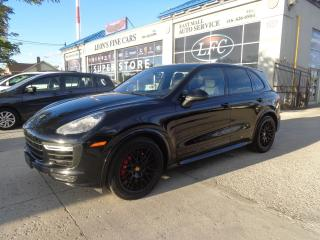Used 2016 Porsche Cayenne GTS V8 PREMIUM PKG NAVIGATION. REAR CAMERA. AWD for sale in Etobicoke, ON