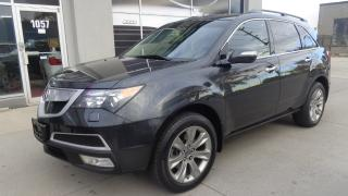 Used 2013 Acura MDX Elite Pkg SH-AWD Navigation TV/DVD for sale in Etobicoke, ON