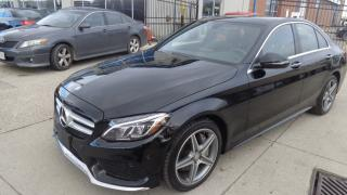 Used 2016 Mercedes-Benz C-Class 4MATIC AMG STYLE PKG. NAVIGATION. REAR CAMERA for sale in Etobicoke, ON
