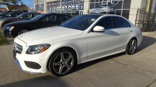 Used 2015 Mercedes-Benz C-Class C300 4MATIC NAVIGATION REAR CAMERA for sale in Etobicoke, ON