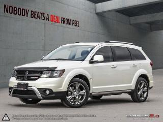 Used 2017 Dodge Journey Crossroad AWD*NAV*DVD*7 Pass*Sunroof*Leather*Clean for sale in Mississauga, ON