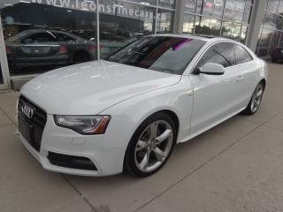 Used 2013 Audi A5 2.0T Premium S-Line Leather Panoramic roof for sale in Etobicoke, ON
