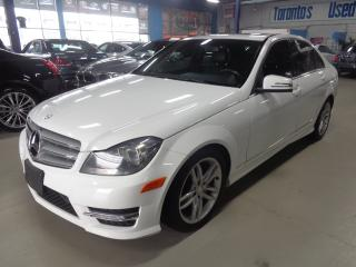 Used 2013 Mercedes-Benz C-Class 300 4MATIC.NAVIGATION. LEATHER SUNROOF for sale in Etobicoke, ON