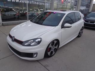 Used 2011 Volkswagen GTI 3-Door Manual Sunroof for sale in Etobicoke, ON