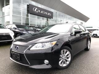 Used 2015 Lexus ES 300 h CVT for sale in North Vancouver, BC