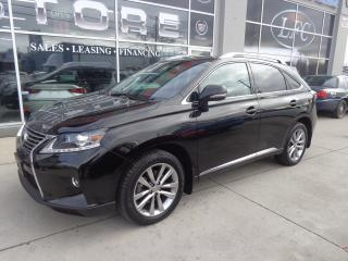 Used 2015 Lexus RX 350 Sportdesign Pkg. Leather. Sunroof. AWD for sale in Etobicoke, ON