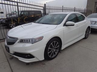 Used 2016 Acura TLX Elite PKG Navigation Rear camera AWD for sale in Etobicoke, ON