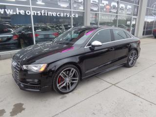 Used 2015 Audi S3 2.0T Technik.S-LINE NAVIGATION/PANORAMIC ROOF for sale in Etobicoke, ON