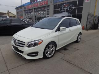 Used 2016 Mercedes-Benz B-Class B250 4MATIC NAVIGATION PANO ROOF for sale in Etobicoke, ON