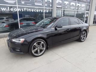 Used 2013 Audi A4 2.0T Premium Plus Navigation.Quattro for sale in Etobicoke, ON