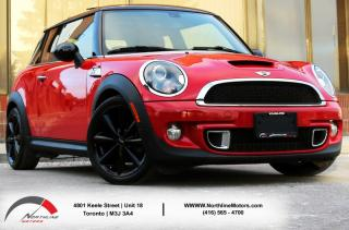 Used 2012 MINI Cooper Hardtop S|Navigation|Red Interior|Panoramic Roof|Heated Seats for sale in Toronto, ON