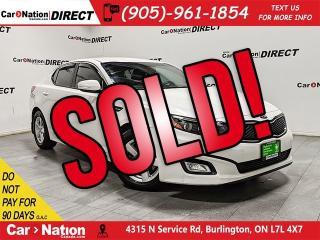 Used 2014 Kia Optima LX| HEATED SEATS| POWER DRIVERS SEAT| for sale in Burlington, ON
