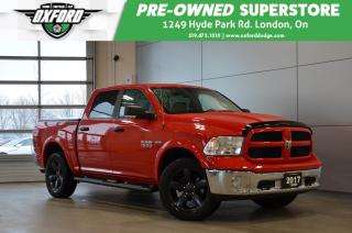 Used 2017 RAM 1500 SLT - one owner, rare leather/heated seats option for sale in London, ON