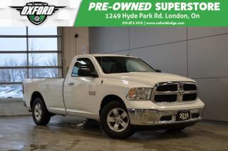 Used 2016 RAM 1500 SLT - Hard to find model, 20,340 extra low kms, 8 for sale in London, ON