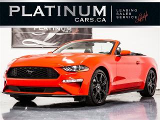 Used 2018 Ford Mustang PREMIUM, CONVERTIBLE, NAVI, Cooled Leather for sale in Toronto, ON