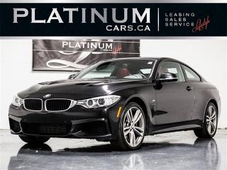 Used 2014 BMW 435i xDrive, M-SPORT, NAVI, RED LEATHER, CAM for sale in Toronto, ON