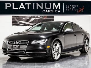 Used 2013 Audi S7 4.0T QUATTRO, NAVI, Cooled SEATS, CAM, Roof S7 for sale in Toronto, ON