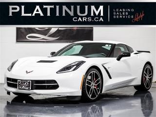 Used 2017 Chevrolet Corvette Stingray Z51 Performance PKG, RED LTHR, Navi for sale in Toronto, ON