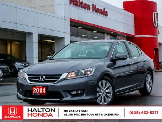 Used 2014 Honda Accord EX-L|SERVICE HISTORY ON FILE for sale in Burlington, ON