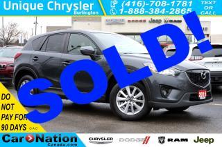 Used 2015 Mazda CX-5 GS| BLINDSPOT MONITOR| REAR CAM| SUNROOF & MORE for sale in Burlington, ON