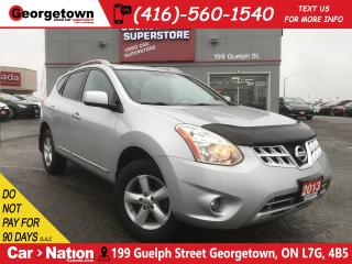 Used 2013 Nissan Rogue SPECIAL EDITION   AWD   ROOF   78K   NO ACCIDENT for sale in Georgetown, ON