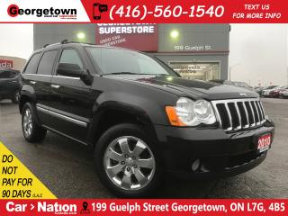 Used 2010 Jeep Grand Cherokee Limited | BOSTON SOUND | LEATHER | AS IS SPECIAL for sale in Georgetown, ON