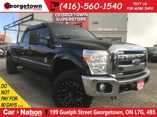 Used 2016 Ford F-250 XLT | CREW | DIESEL | 8FT BOX | 4X4 | BACK UP CAM for sale in Georgetown, ON